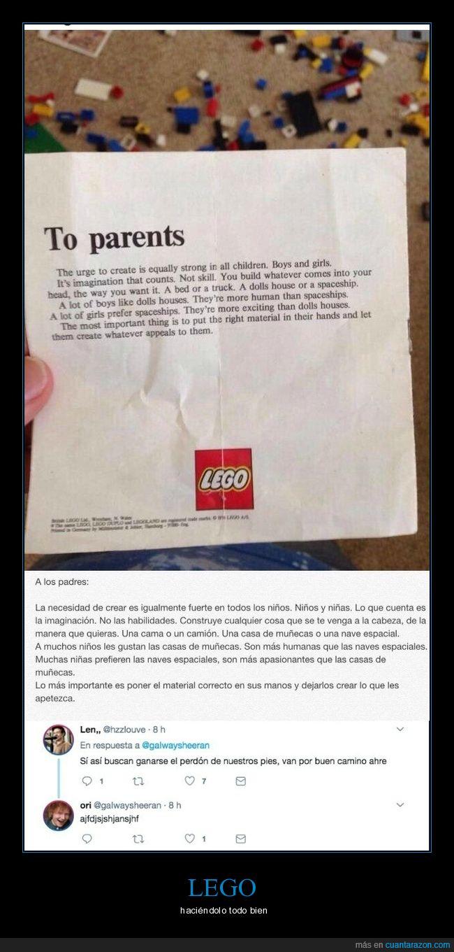 carta,lego,mundo,padres