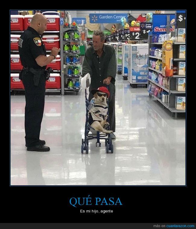carrito,perro,supermercado