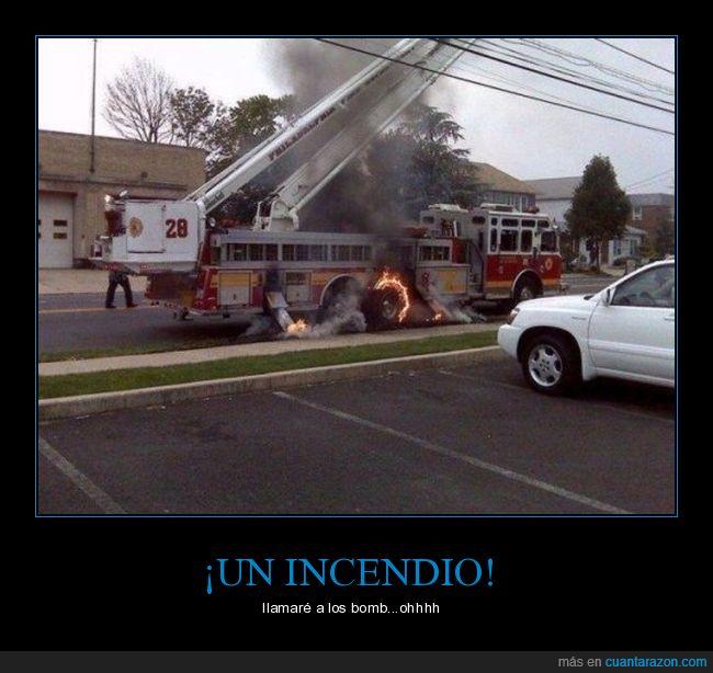 bomberos,corto cicuito,fuego