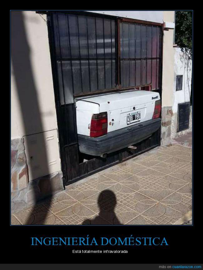 aparcar,coche,garaje,recorte