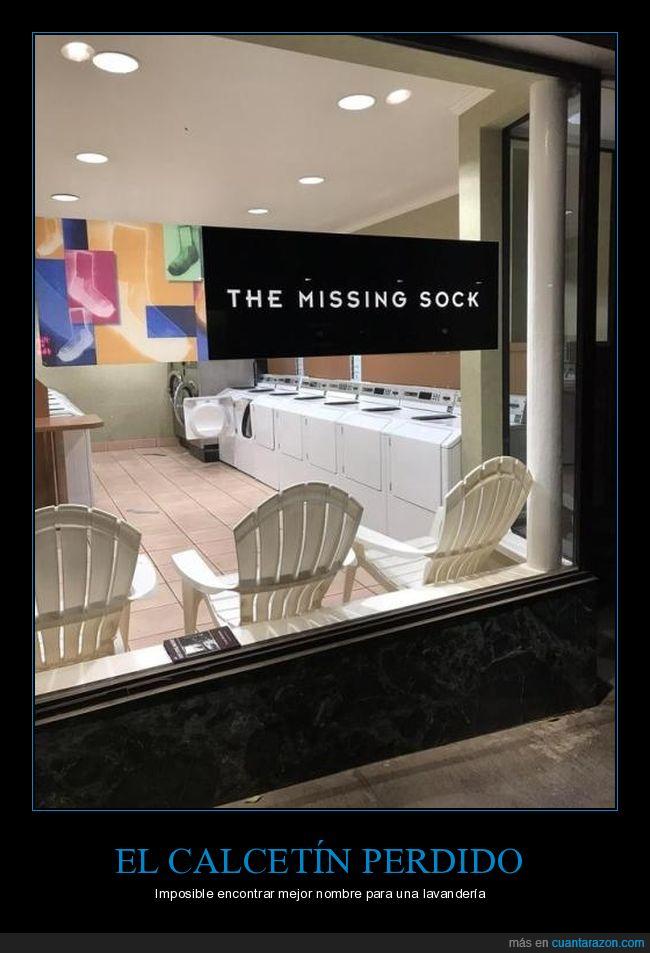 calcetín,lavandería,perdido
