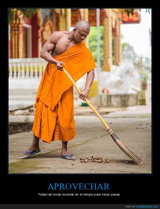 barrer,budista,mazado