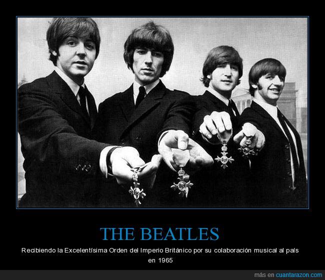 Imperial,Inglaterra,Música,Orden,Reconocimiento.,Reino Unido,The Beatles