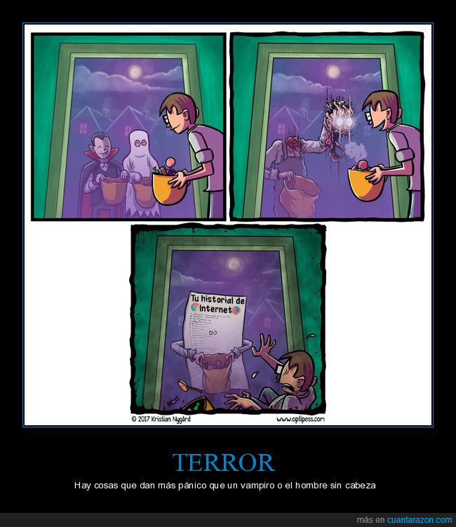 halloween,historial de internet,miedo