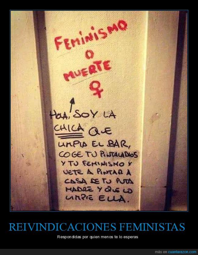 feminismo,pintada,puerta,wc
