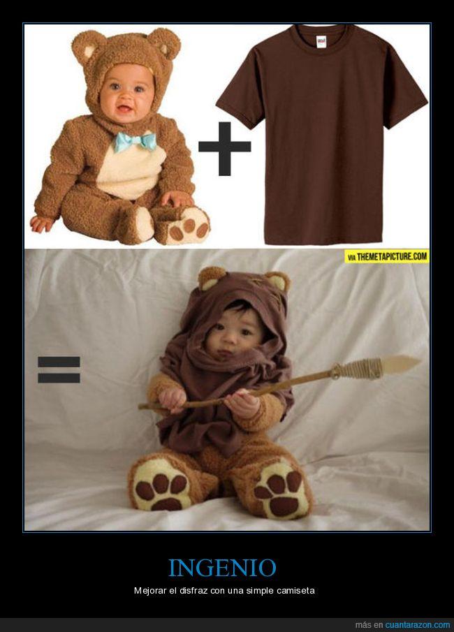 disfraz,ewok,oso