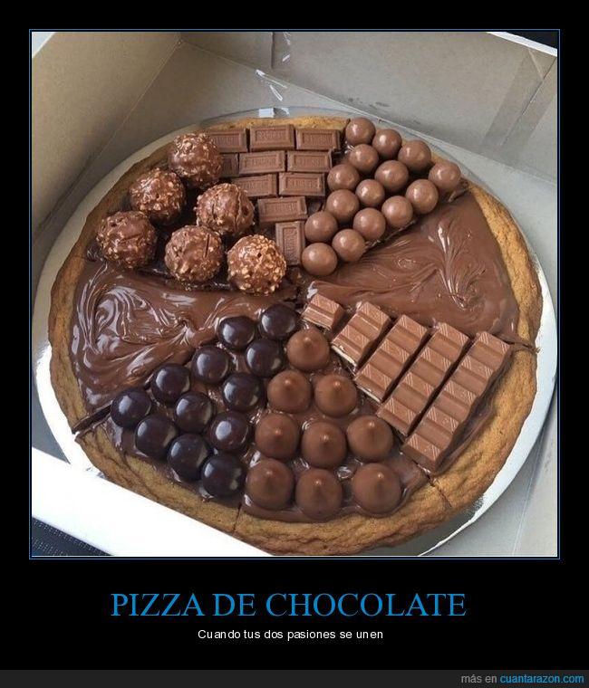 chocolate,pizza