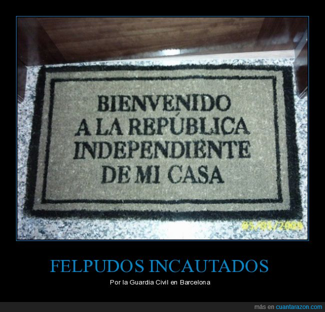 broma,felpudo,humor,ikea,republica independiente