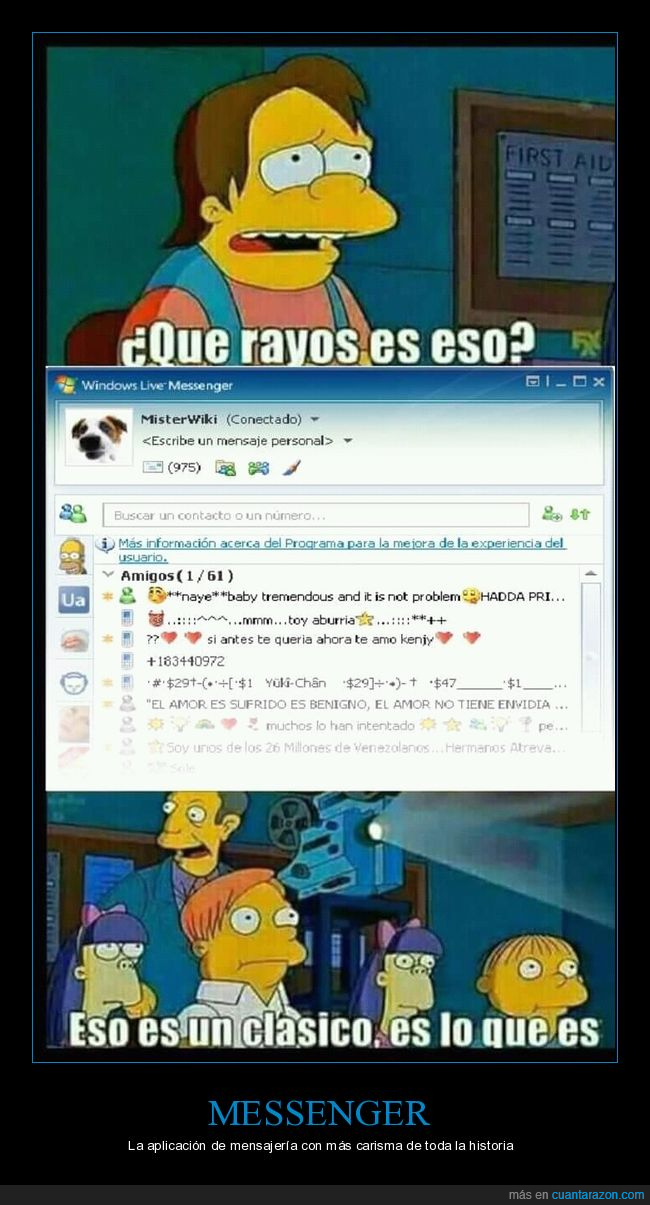 clásico,messenger,msn