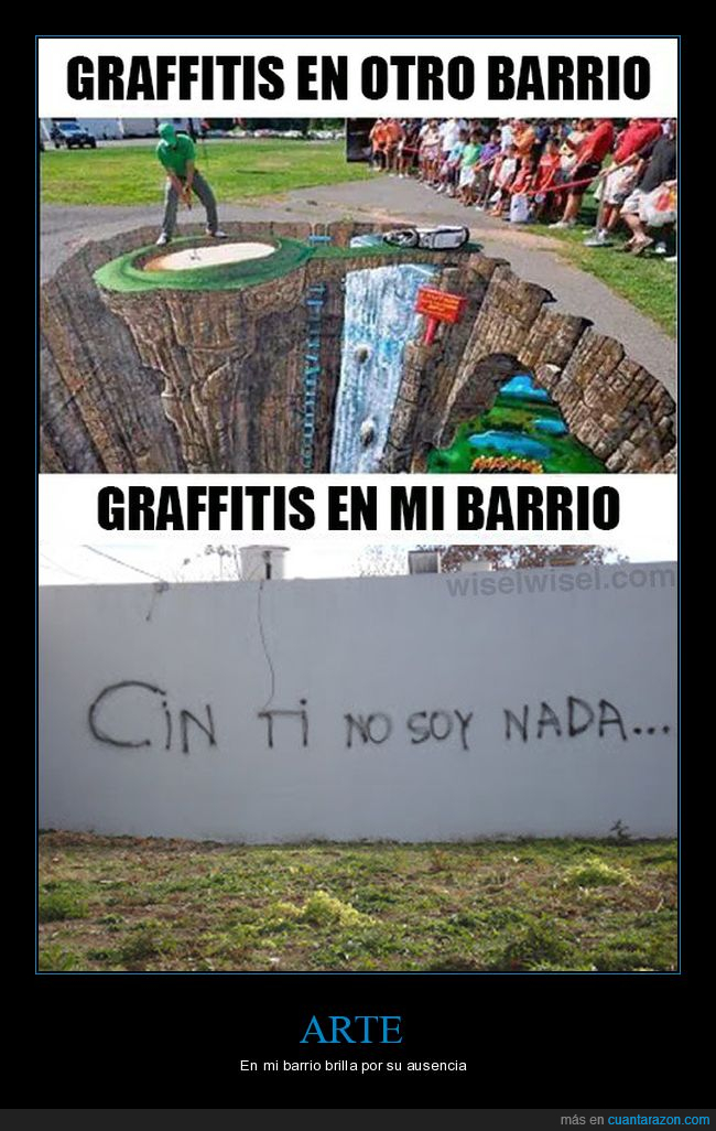 barrio,graffitis,pintadas