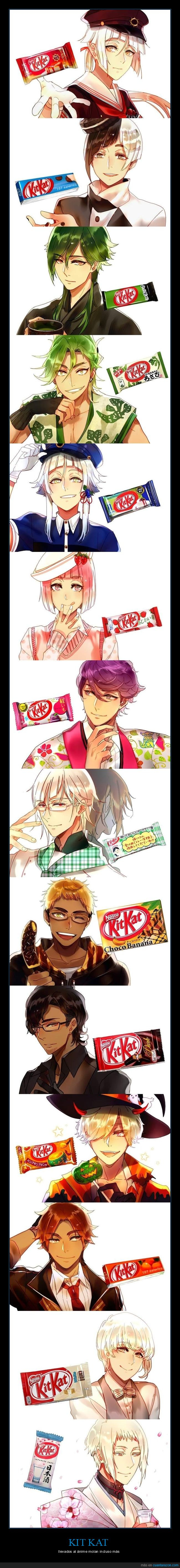anime,kit kat,llevar,riconudo