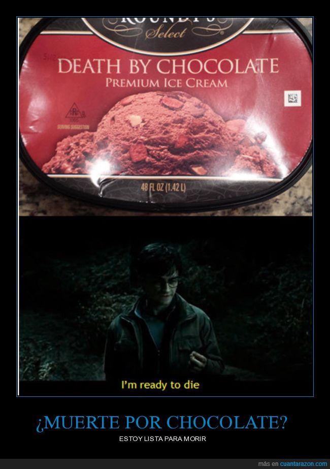 chocolate,muerte
