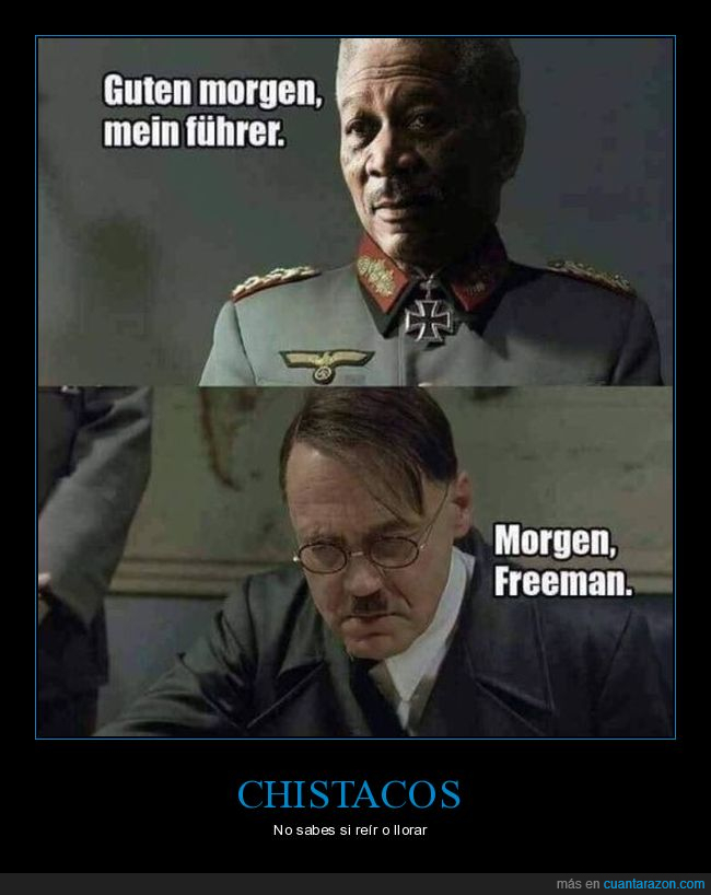 hitler,morgan freeman