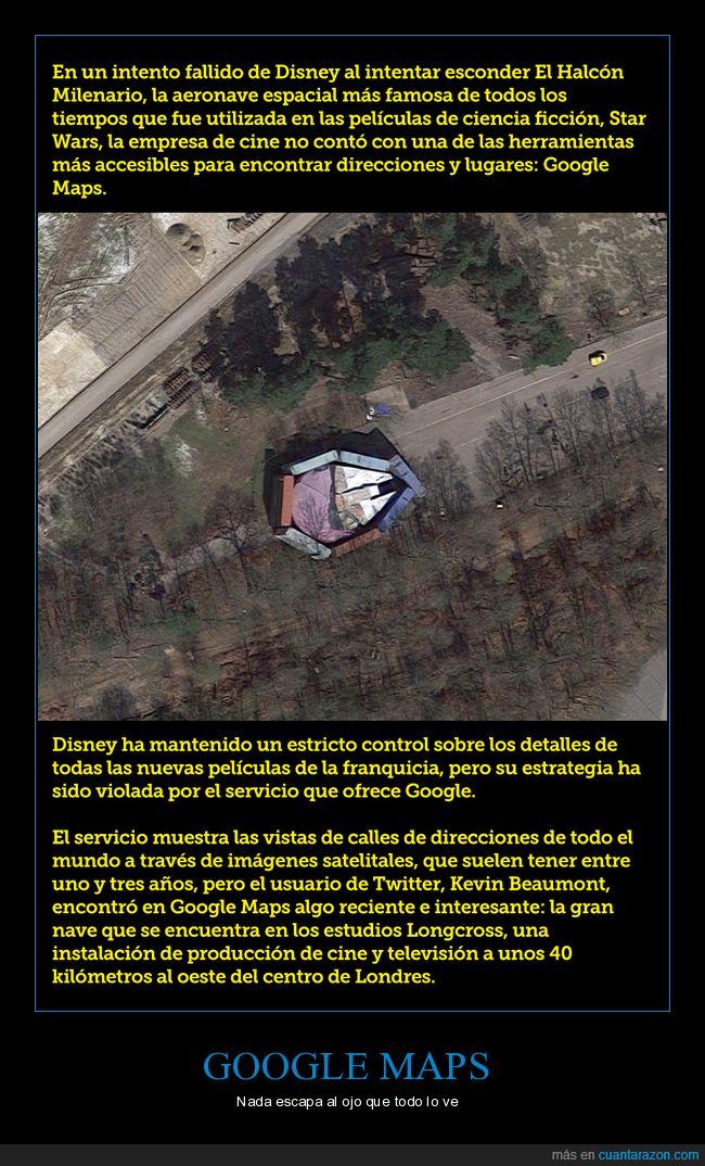 google,halcón milenario,maps