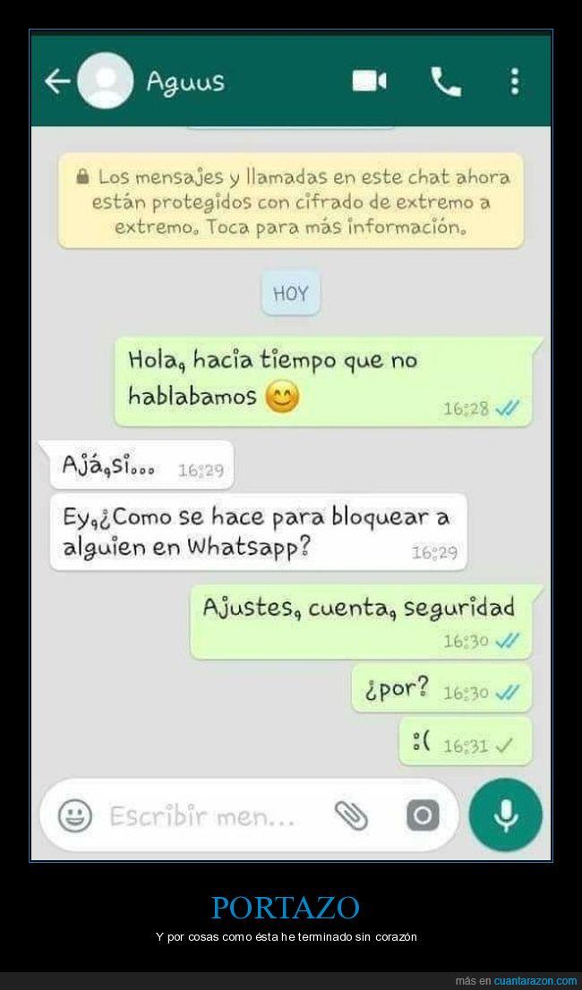 bloquear,seguridad,whatsapp
