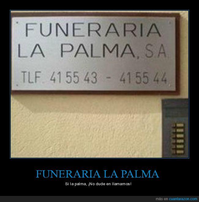 funeraria,isla,La Palma,muerte,surrealista