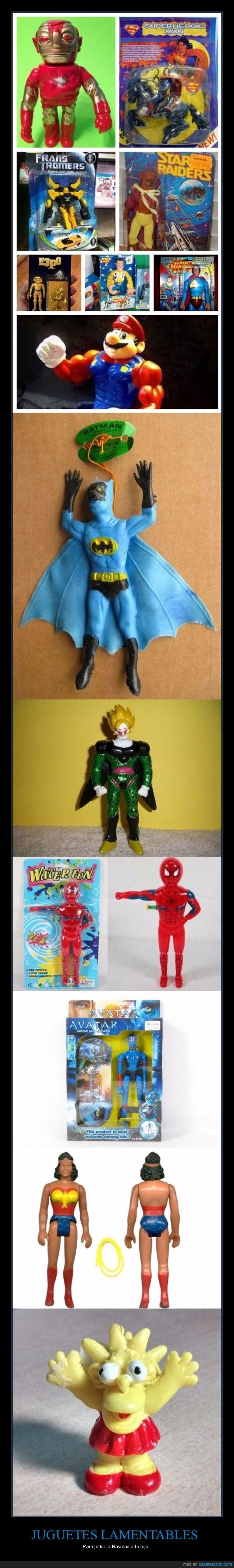 cutres,juguetes,malhechos