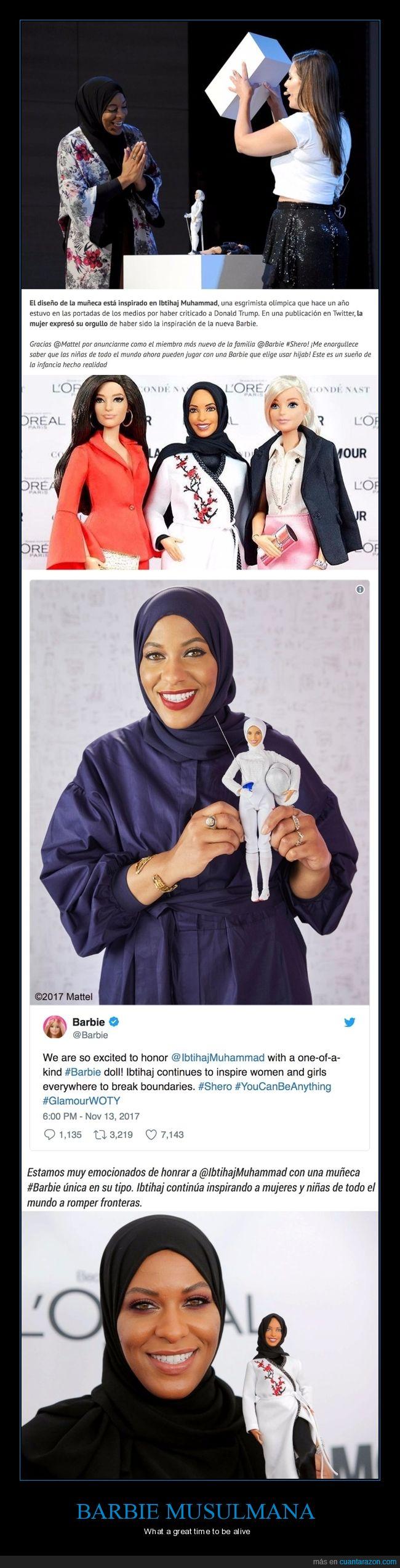barbie,barbie musulmana,muñeca