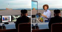 Enlace a Kim Jong-un observa el despliegue de un misil e Internet le declara la guerra… pero de Photoshop