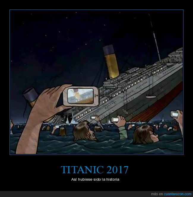 caricatura,cómic,dibujos,humor,selfie,titanic