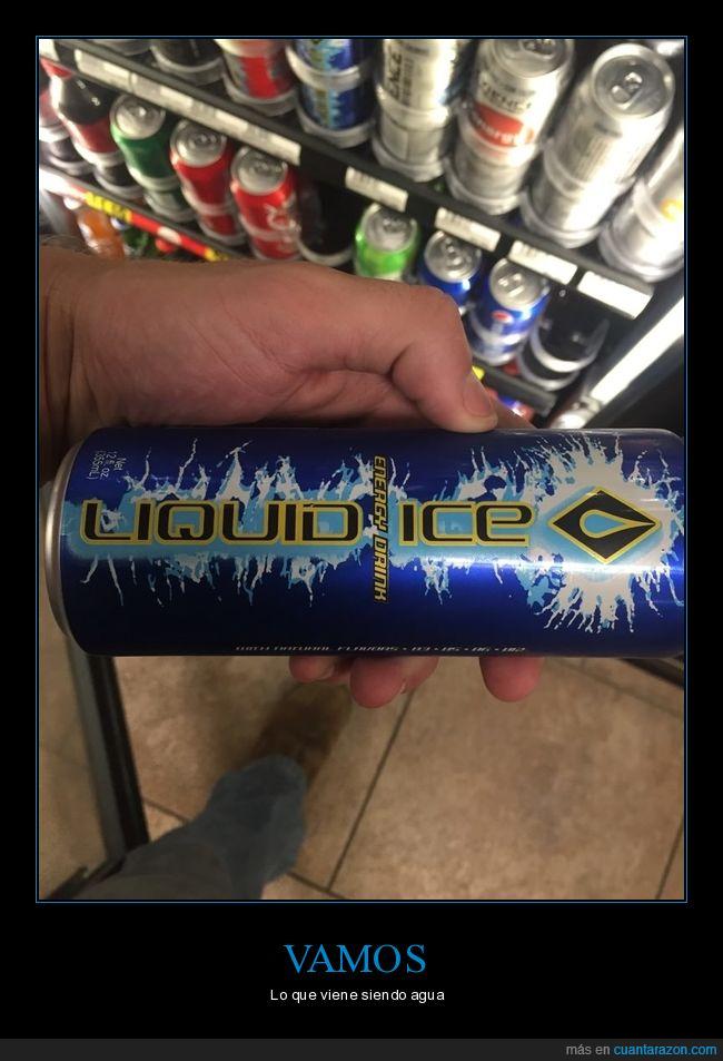 agua,hielo líquido,lata,liquid ice