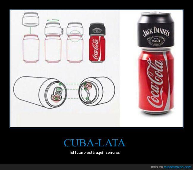cocacola,jack daniel's,lata