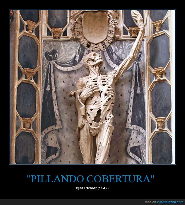 cobertura,escultura,esqueleto,pillar
