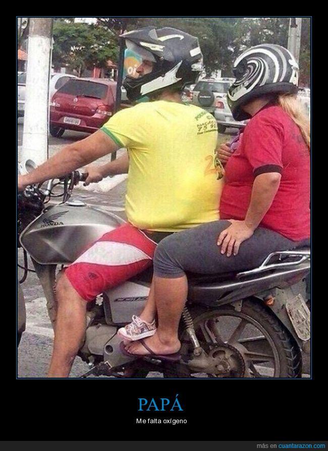 bebé,camiseta,escondido,moto