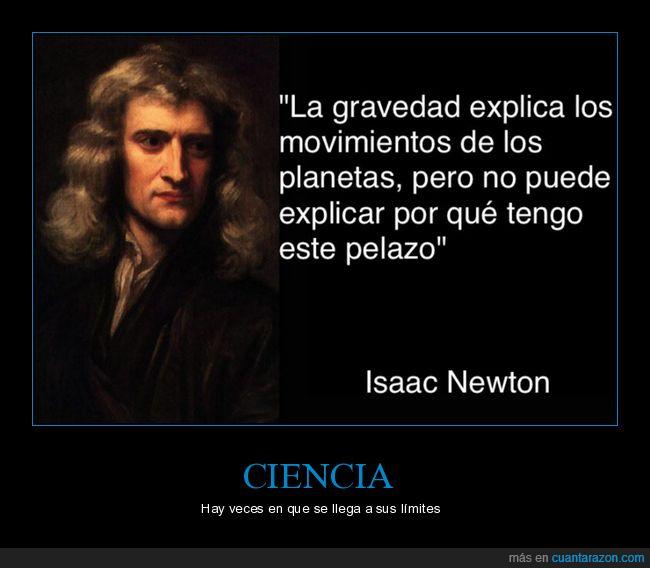 ciencia,isaac newton,límites,pelazo