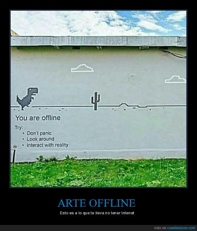 dinosaurio,offline,sin internet