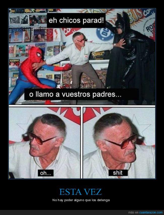 araña,Batman,spiderman,Stan Lee