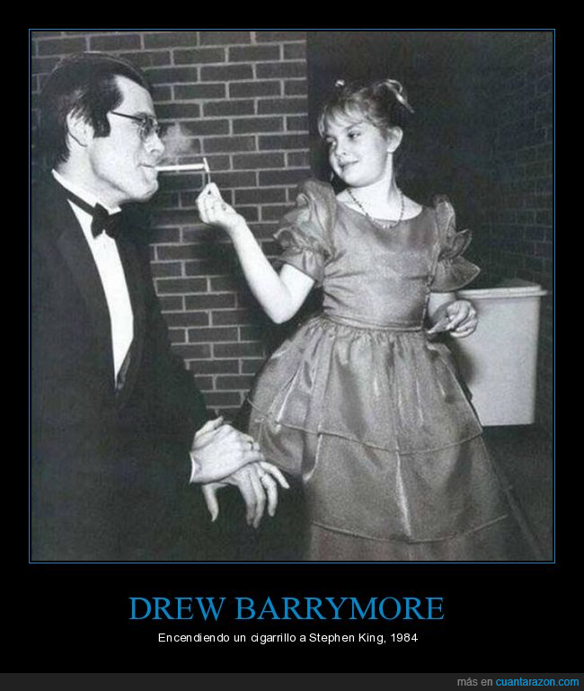 Drew Barrymore,Stephen king