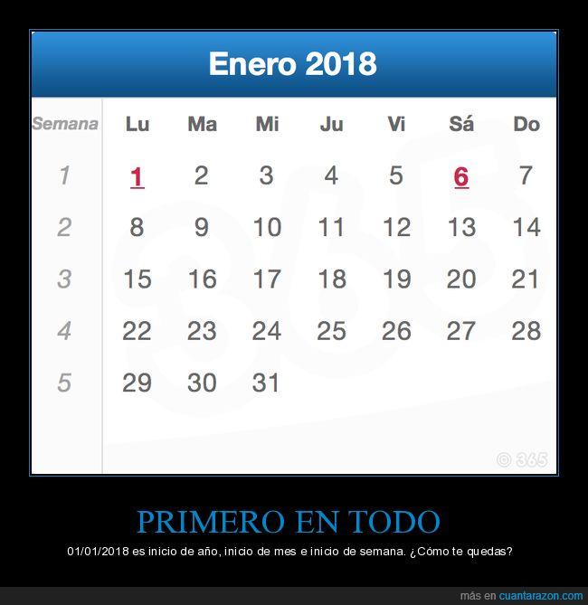 2018,inicio de año