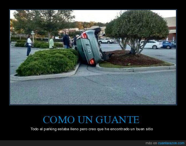 aparcar,coche,girado,parking