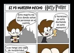 Enlace a Harry Potter desde la mirada de un pervertido