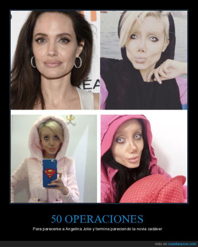 angelina jolie,cirugía,novia cadáver,operaciones