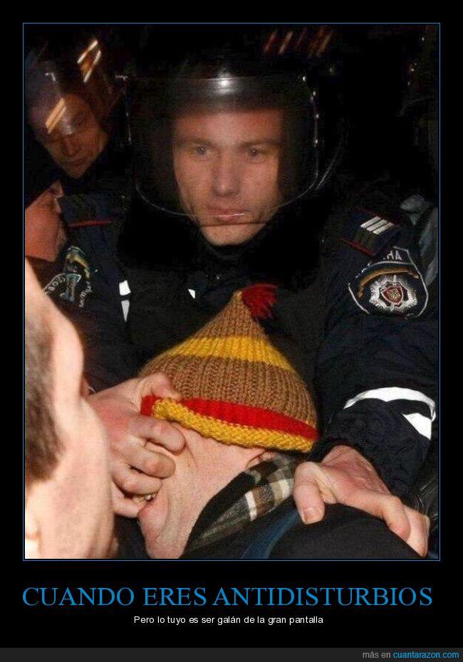 disturbios,policìa