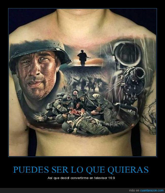 tatuaje,televisor,tv