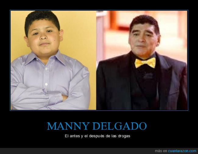 Manny Delgado,Maradona,Mundial