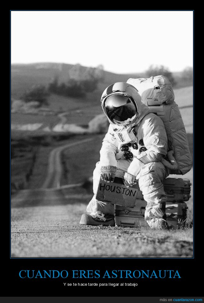 astronauta,carretera,Houston