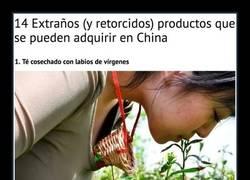Enlace a 14 productos extrañísimos que se pueden comprar solo en China