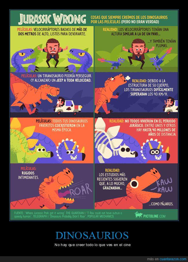 curiosidades,dinosaurios,jurassic park