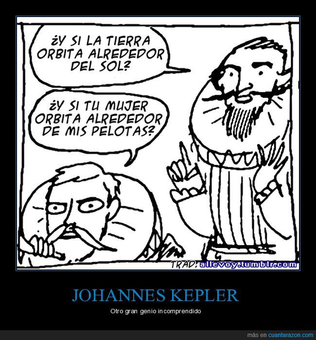 johannes kepler,orbitar,sol,tierra