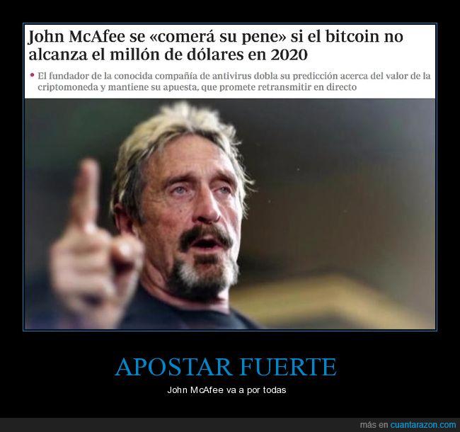 bitcoin,comer,john mcafee
