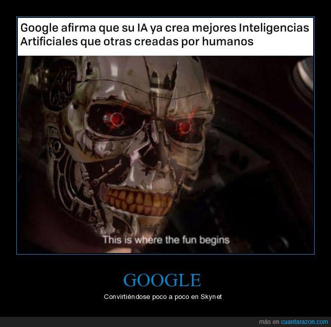 google,ia,inteligencia artificial,skynet,terminator