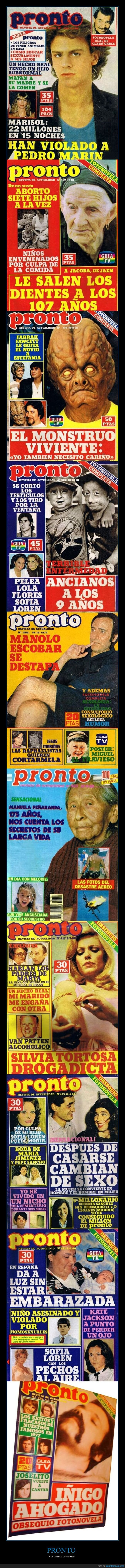 portadas,pronto,retro,revistas