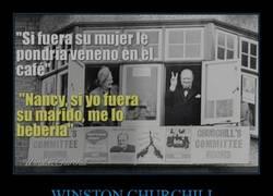 Enlace a Zasca made in Winston Churchill