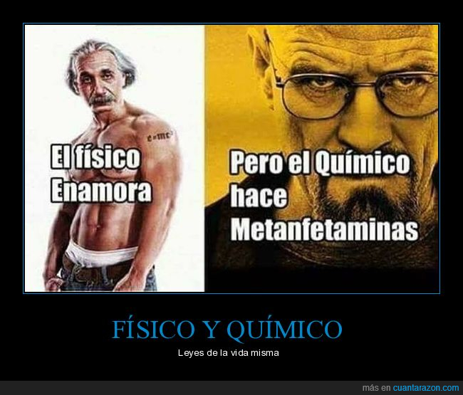 breaking bad,einstein,física,leyes,química