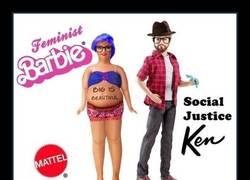Enlace a Barbie feminista y Ken justiciero social, pfffffff