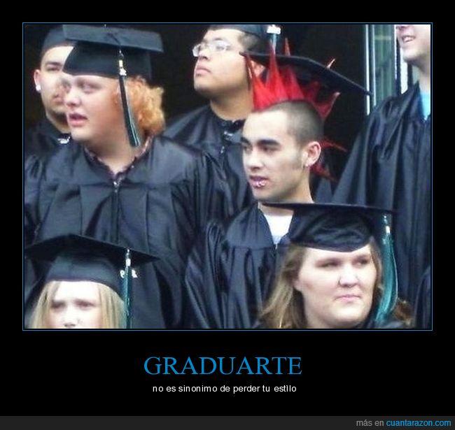 graduado,pelo,punk,toga